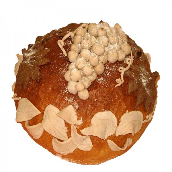 chleb z gronem