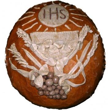 chleb z hostią