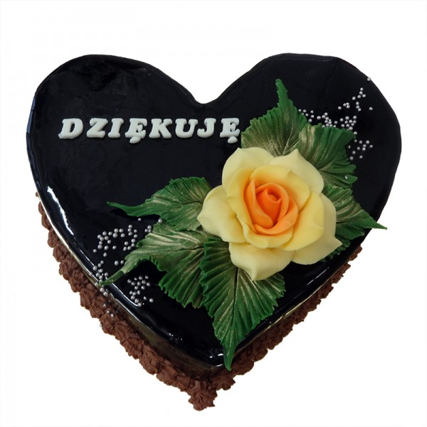 czekoladowe serce