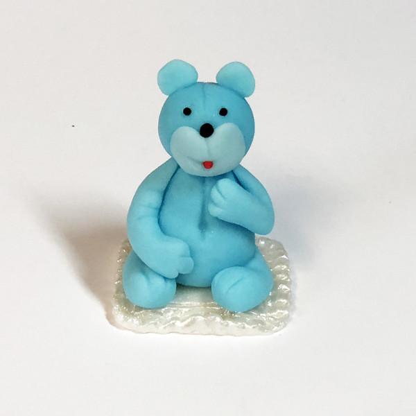 miś niebieski