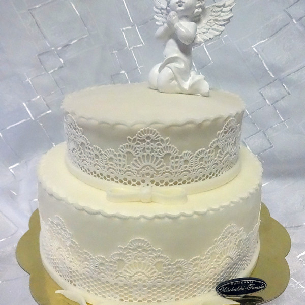 koronka z aniołem 2